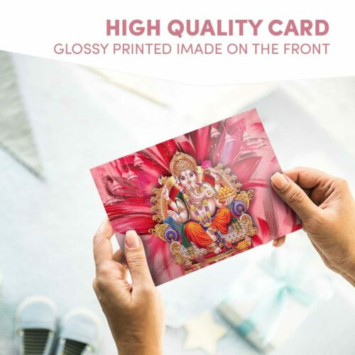 "Photograph 6x4/"" Hindu Lord Ganesha Indian India Art 15x10cm #21688"