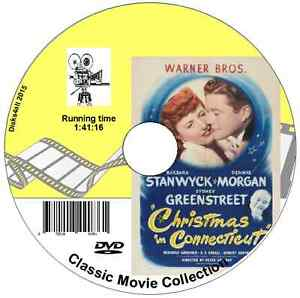 Christmas In Connecticut Dvd.Details About Christmas In Connecticut Barbara Stanwyck Dennis Morgan Dvd 1945 Film