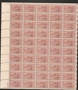 1020 Louisiana Purchase MNH Sheet CV $14.00