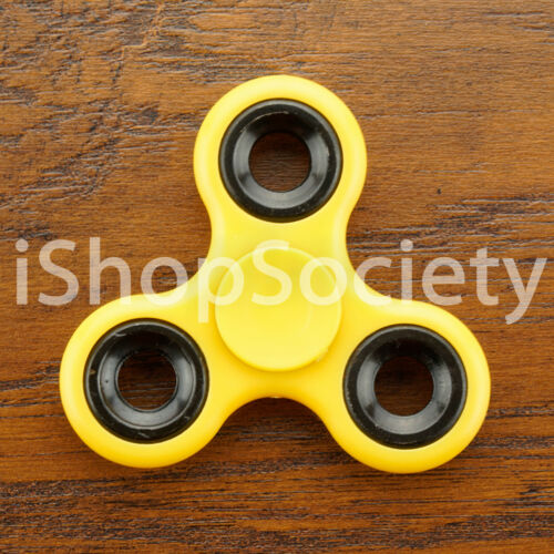 Tri Spinner Fidget Spinners EDC Figet Hand Desk Focus Toy ADHD Multi Color