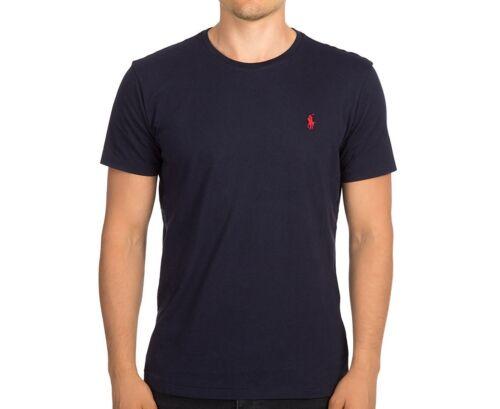Polo Ralph Lauren Crew Neck Modern Classic-Fit T-Shirt Mens INK NAVY XXL