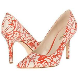 Nine-West-Women-039-s-Jackpot-Off-White-Red-Patent-Pumps