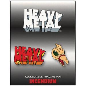 Heavy Metal The Movie 1981 Set C Lapel Pin 2-Pack Logo and Taarna's Bird 02HMC02