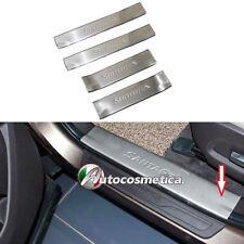Hyundai Santa Fe 4 battitacchi protezione plastiche interne acciaio satinato