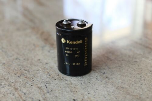 Kendeil Capacitor K01050683 68000 uf 50 VDC New