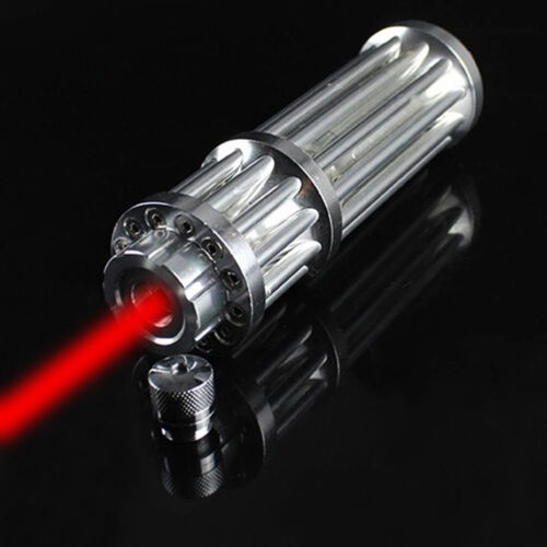 650nm RED Zoom Laser Pointer Pen 1mW Visible Beam Light 18650 /& Smart Charger