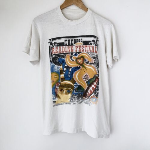 1990 Reading Festival Vintage Tour Shirt 90s Cramp