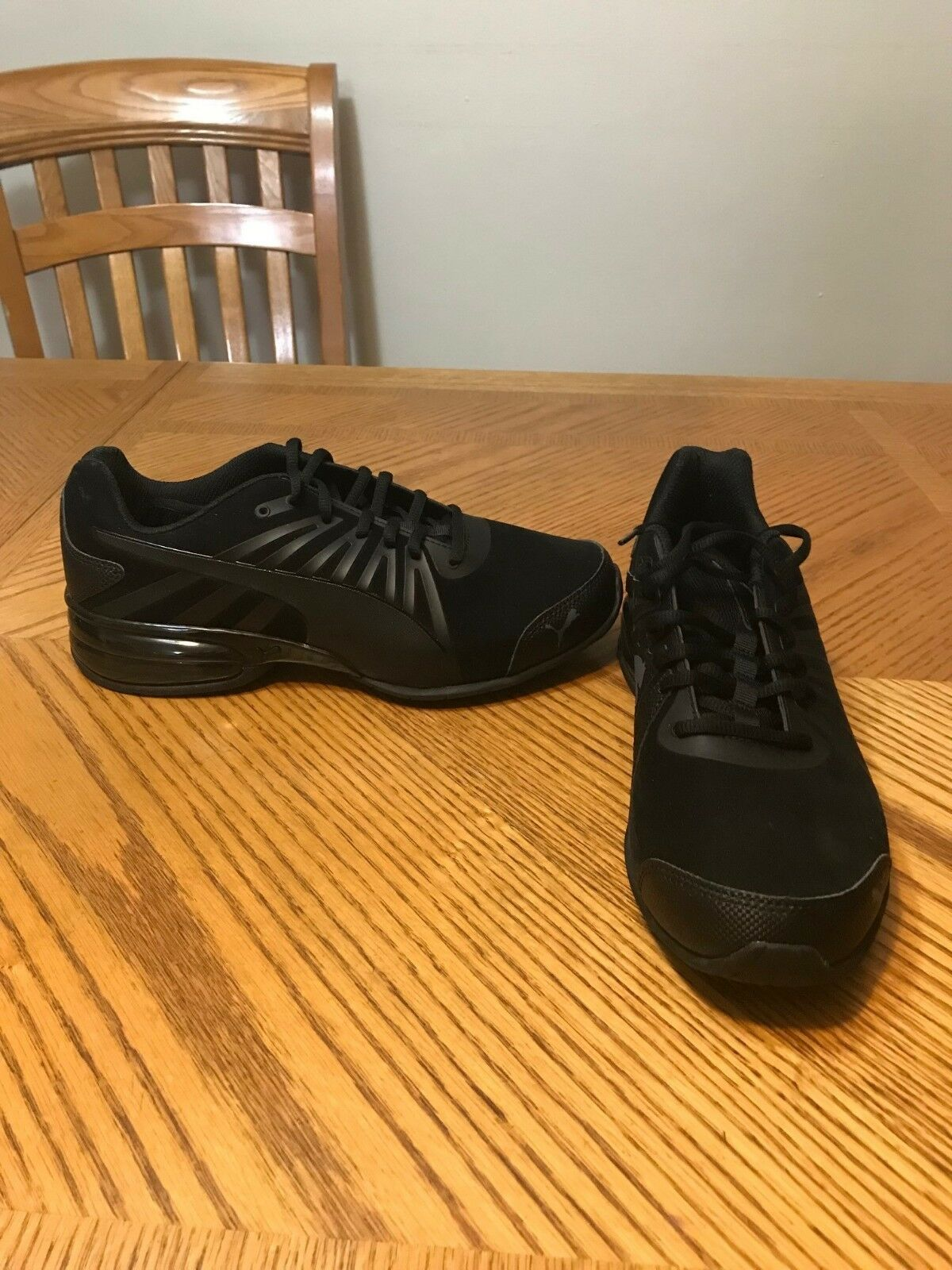 Men Puma Cell Turin Performance Running Shoes Black Sneakers 10, 10.5 and 11