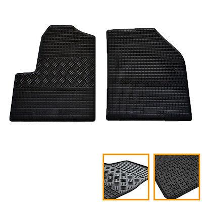 Fußmatten Alu Riffelblech für Ford Mustang VI  2014