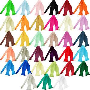 Hommes-N-ud-Papillon-a-Nouer-Satin-Mariage-Reglable-Multicolore-Marque-DQT