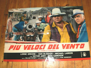 Plakat,Bonanza,Lorne Greene, Dan Blocker,Michael Landon, Victor Jory,Western#4