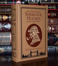 Adventures of Sherlock Holmes & Other Stories by Conan Doyle Leather Bound Ed