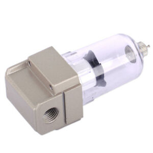 "1//4/"" 750L//Min Air Filter Compressor Water Moisture Trap Separator AF2000-02 New"