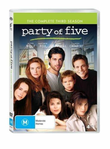 1 of 1 - Party Of Five : Season 3 **REGION 1**  DVD **NO CASE; DISCS ONLY** 4-Disc Set