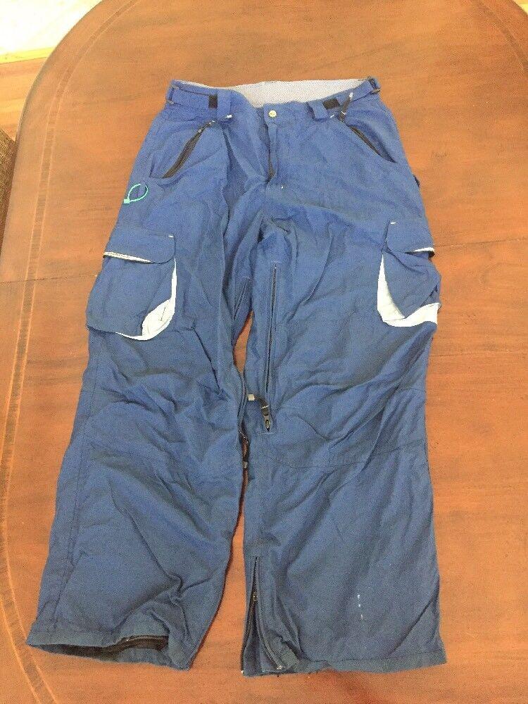 Billabong Men's Large bluee Snowboard Ski Winter Pants. TL8