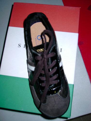 "Grey//Black/"" tendance Fille Chaussure NEUF Serafini sport chaussure /""Fashion MODELS Jr"