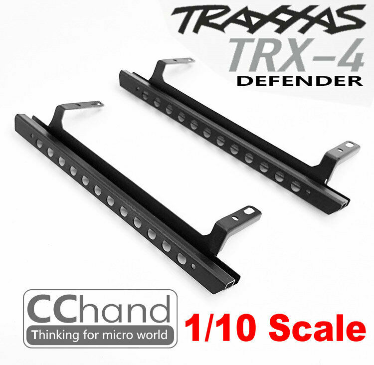 CC He METAL SIDE SLIDERS for TRX-4  Le ROVER D110  outlet in vendita