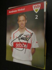 65967 Andreas Hinkel VFB Stuttgart DFB original signierte Autogrammkarte