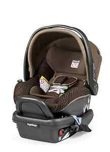Peg Perego 2015 Primo Viaggio 4/35 Infant Car Seat with Base Circles Chocolate!!