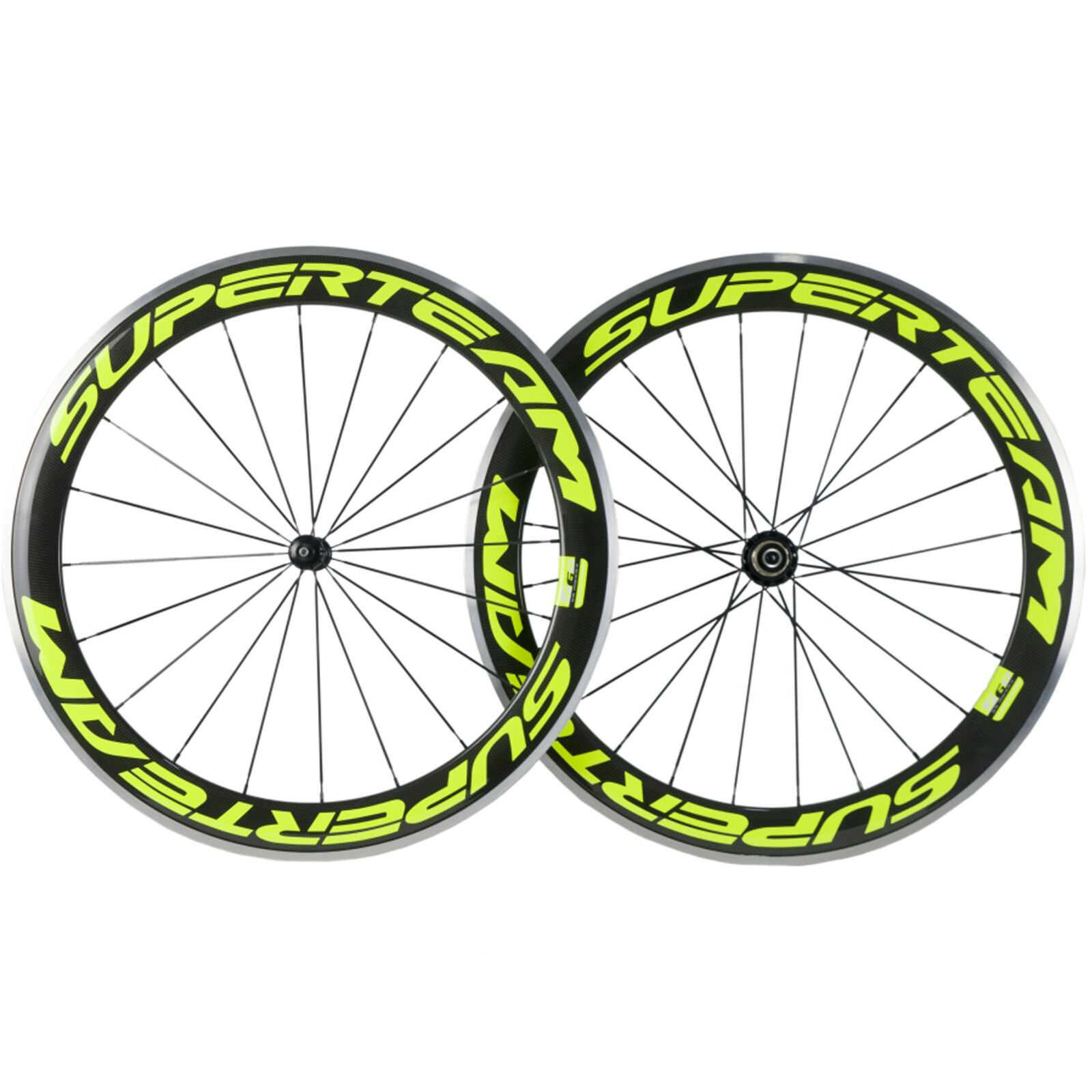 Superteam Alloy Carbon Wheels  50mm Carbon Bike Aluminum Wheelset 700c Clincher  buy brand