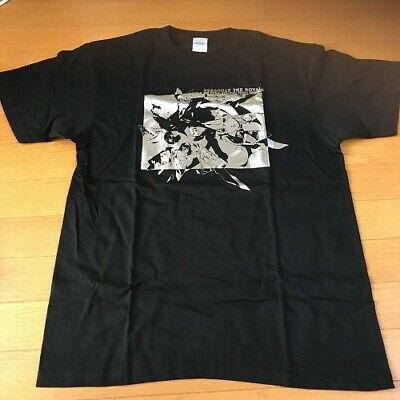size limited Straight Flash Edition Japan JPN Persona 5 The Royal T-shirt L