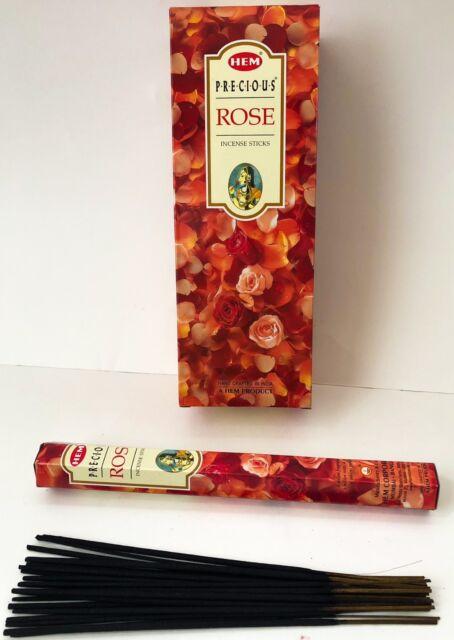 HEM CORPORATION 240 grams Hem Precious Red Roses Incense Sticks