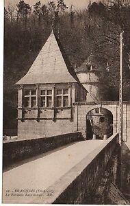 Cpa-carte-postale-24-Dordogne-Brantome