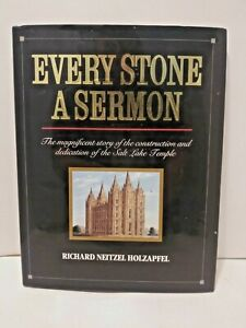 Every-Stone-a-Sermon-by-Richard-N-Holzapfel-1992-Hardcover