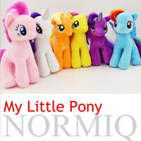 "7"" Plush Doll My Little Pony Applejack Spike Rainbow Figure Stuffed Kids Toys"