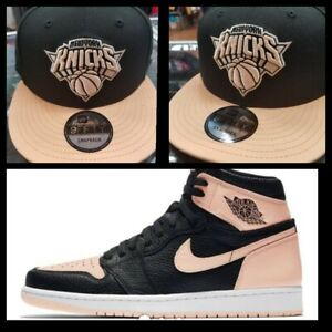 1722b555e3b9d Image is loading Perfect-matching-Knicks-snapback-for-Nike-air-retro-