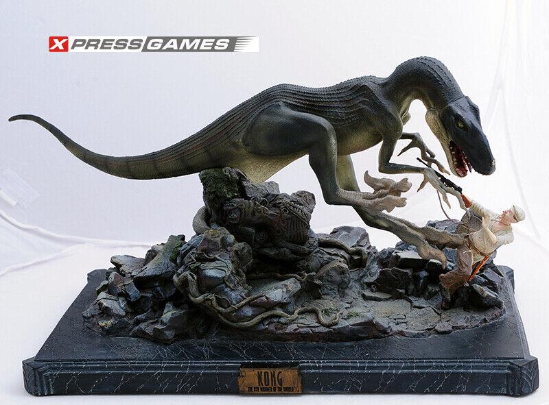 KING KONG Venatosaurus Attack Statue Weta Collectibles