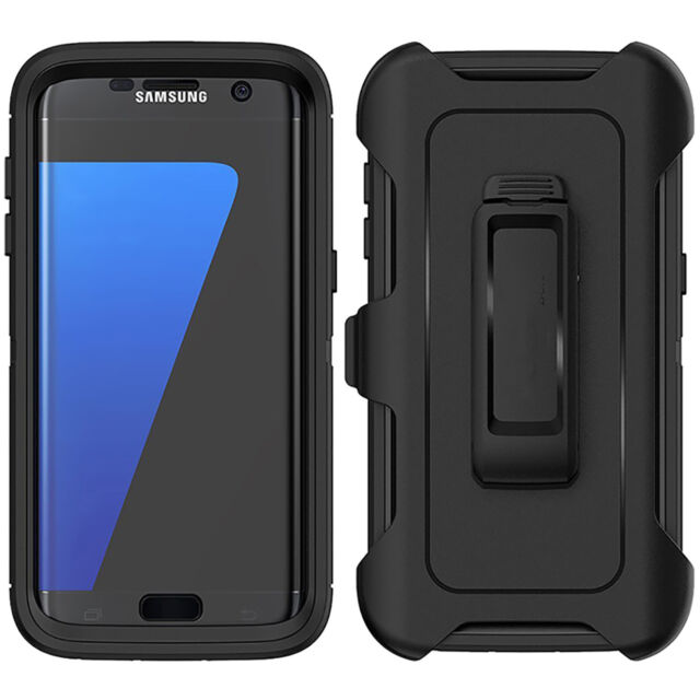 newest ba607 cdaa6 For Samsung Galaxy S7 Edge Case with Belt Clip | Fits Otterbox DEFENDER  SERIES