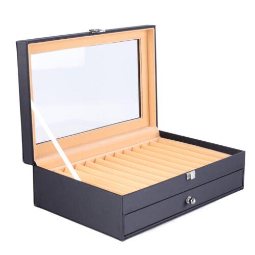 Penbox//Stifte Sammelbox 24//36Slot Stifthalterbox Veranstalter Aufbewahrungskiste