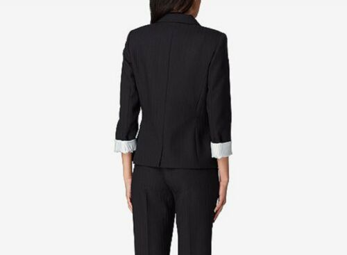 Tahari Petite Black Size Jacket stripe Shadow Asl 191151589398 2p 1Xwqr1H