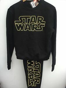 MENS-OFFICAL-DISNEY-STAR-WARS-BLACK-LEISUREWEAR-TRACKSUIT-PYJAMAS-XS-XXL-RRP-30