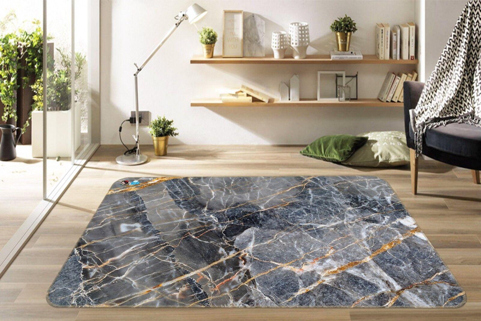 3D Marmor Textur Riss 2 Rutschfest Teppich Raum Raum Raum Matte Qualität Elegant Teppich fcb775