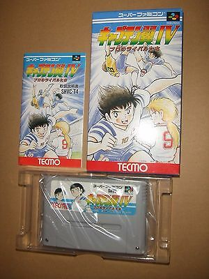 CAPTAIN TSUBASA Ⅳ 4 With Box Nintendo Super Famicom software SFC SNES ②