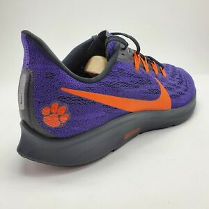 NEW-Nike-Air-Zoom-Pegasus-36-CLEMSON-TIGERS-Men-039-s-10-Running-Shoes-CI2064-500
