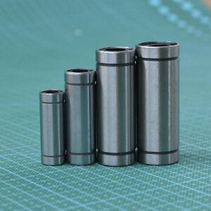 1PCS LM6/8/10/12/16/20/25/30LUU CNC Long Linear Motion Ball Bearing Bushing