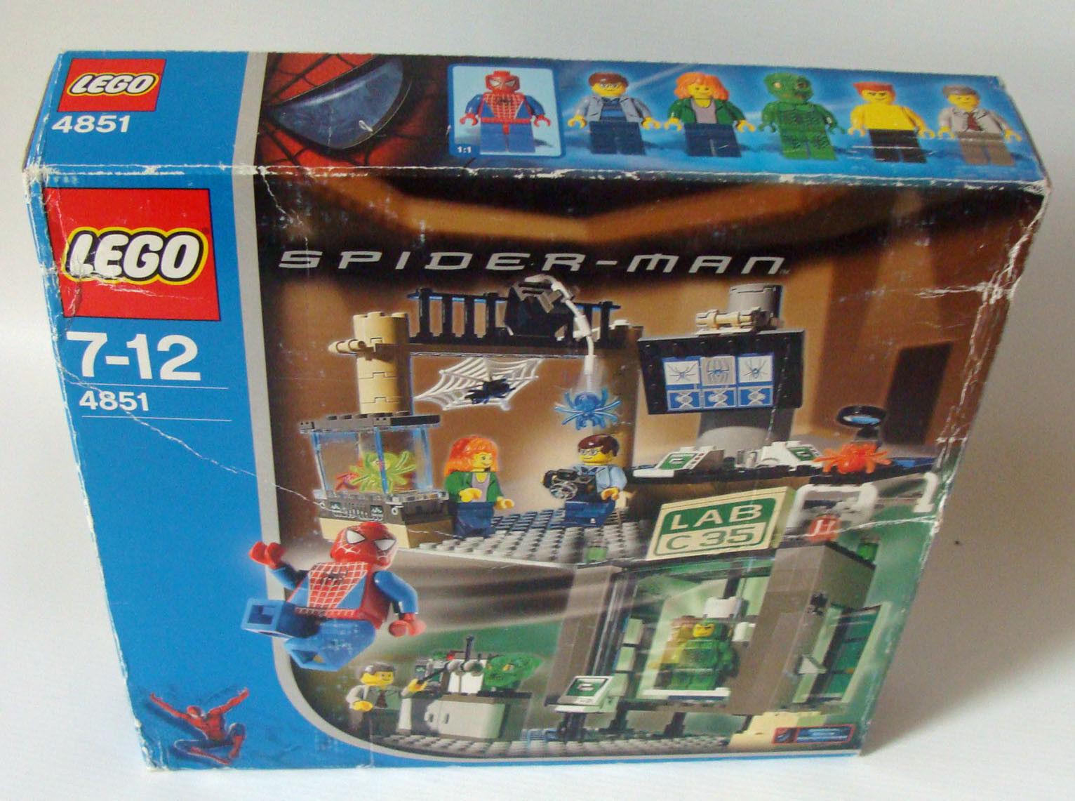 Lego® Spider Man 4851 - Spider Man und Grün Goblin 212 Teile 7-12 Jahren - Neu