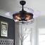 42-034-Industrial-Semi-Flush-Chandeliers-Retractable-Ceiling-Fans-Pendant-Lamp thumbnail 3
