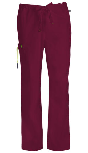 Scrubs Code Happy Men/'s Drawstring Cargo Pant 16001A WICH Wine Free Shipping
