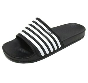 7725784fe4d9 X-Sport Men s Slip On Pool Beach Sliders Sandals Black