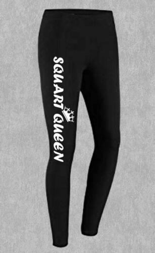 Squat Queen Women/'s Leggings Yoga Birthday Gift  Workout Gym Fitness Sports