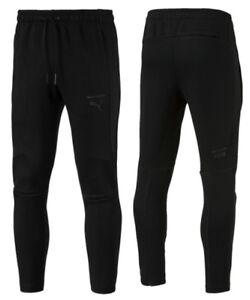 136d78919c45 Puma Pace Primary Sweat Pants Joggers Bottoms Mens Black 575051 01 ...