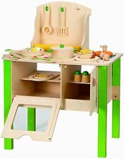 Hape My Creative Cookery Club Wooden Play Set Kids Pretend Play E8010 New