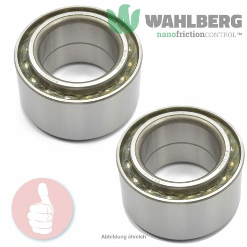 2 x Original WAHLBERG Radlager Radlagersatz WB96031 Vorderachse