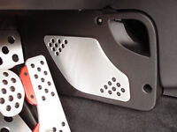Rennline 2006+ Mini Gas Pedal Foot Guard Silver