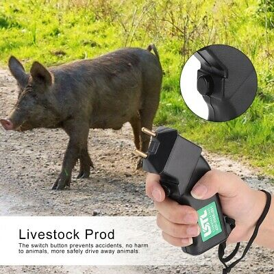 Electric Hand Prod Shock Goat Cattle Pig Livestock Equipment Portable Tool