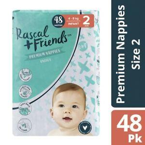 Rascal & Friends Nappies Bulk Infant 48 pack